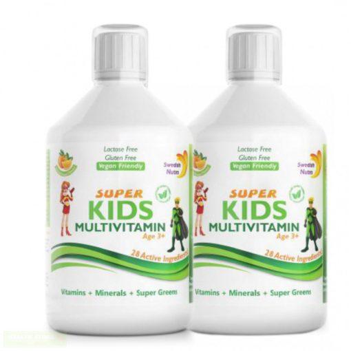 Super Kids folyékony multivitamin gyerekeknek ( 2 x 500ml )