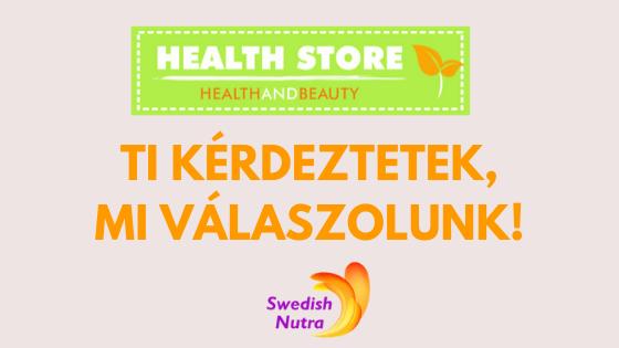 Ti kérdeztétek a Swedish Nutra folyékony vitaminokról!